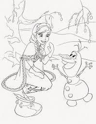 olaf coloring pages coloring pinterest olaf