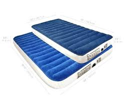 air mattresses with headboard camping series queen twin inflatable
