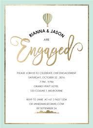 Engagement Card Invitations Wedding Invitations U0026 Cards By Steven Michael