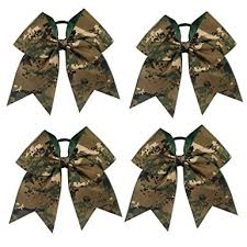 cheer bows uk cn 7 inch large camouflage cheer bows hair accessories hair
