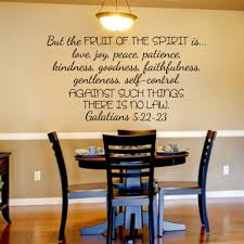 scripture wall decal christian wall decal but fruits