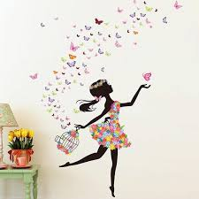 Garden Wall Art Australia - fairy wall decals for girls and kids play rooms or bedrooms
