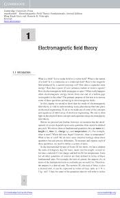 Electromagnetic Field Theory Fundamentals Pdf Download Available