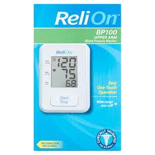 relion automatic blood pressure monitor walmart com