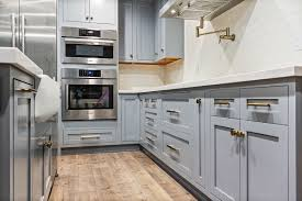 blue gray for kitchen cabinets ready to assemble inset blue gray shaker cabinets