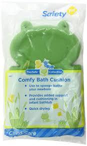 Cushion Sponge Material Amazon Com Safety 1st Comfy Bath Cushion Green Baby Bathing