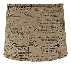 french script l shade ahs lighting sd1478 10wd bk french script drum l shade with