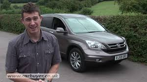 Honda Crv Diesel Usa Honda Cr V 2007 2012 Review Carbuyer Youtube