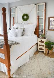 White Wooden Bedroom Furniture Farmhouse Bedroom Ideas Pinterest Large U Shaped Dark Brown