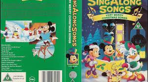 sing along songs merry songs 1992 uk vhs