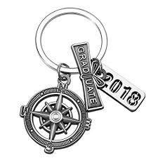 graduation keychain graduation keychain with scroll 2018 charm and