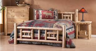 Cabin Bed Frame Log Bed Frame Whereibuyit