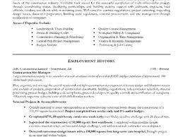 5 project management resume sample resume sample project