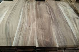 unfinished leaf acacia hardwood flooring 3 5 5 width