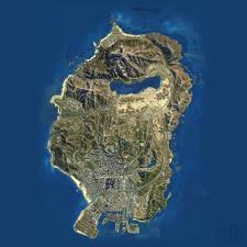 Los Angeles Afb Map by Gta 5 Map