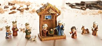 home interiors nativity set the first nativity scene was created