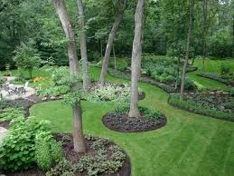 patio 51 backyard landscape ideas decorated with green garden