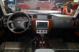 nissan patrol nismo red interior nissan at the philippines international motor show 2014