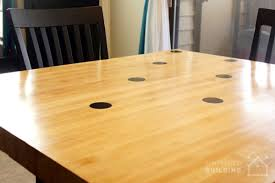 How To Make A Wooden Kitchen Table Top by Diy Reclaimed Bowling Alley Table Built With Pipe U0026 Fittings