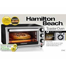 Bagel Setting On Toaster Hamilton Beach Toaster Oven 31142