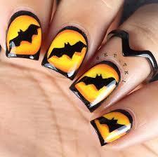 halloween nail art inspiration pampadour