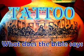 tattoos what does the bible say about body piercings youtube