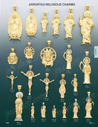 religious charms 14k gold jude religious charm pendant p86 6 1 384 00