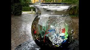 venice murano solid glass fish bowl