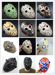 archaistic jason mask full face antique killer mask jason vs