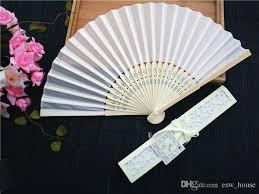 cheap hand fans for wedding online cheap chinese imitating silk hand fans folding fan chinese