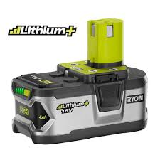 ryobi fan and battery ryobi 18 volt one lithium lithium ion high capacity 4 0ah battery