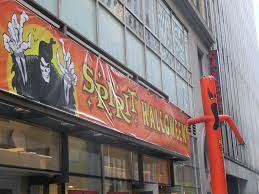 spirit halloween store 2016 a ricky s cosmetics store in new york advertises that it is hiring