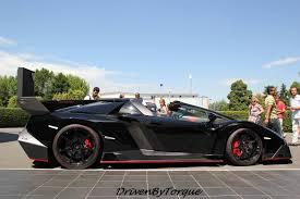 Lamborghini Veneno Roadster - black lamborghini veneno roadster at lamborghini factory gtspirit