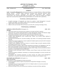 53 senior accountant resume resume examples public