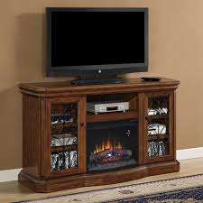 beauregard electric fireplace entertainment center in antique