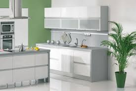 green white color schemes spacious white kitchen designs