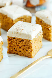 Healthier Pumpkin Bars With Cream Cheese Frosting Eat Yourself