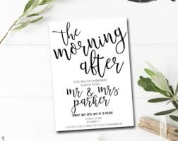 wedding brunch invitations wording brunch invitation etsy