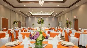 Garden Table Decor Hilton Garden Inn Columbus Indiana Wedding Venues