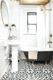 vintage black and white bathroom ideas 48 beautiful vintage black and white bathroom ideas derekhansen me