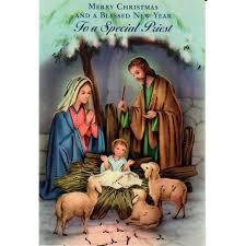 catholic christmas cards christmas card for a special priest the catholic company