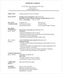 Assistant Accountant Resume Sample by Modern Resume Templates 42 Free Psd Word Pdf Document Download