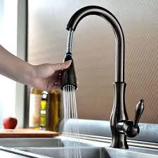 moen kitchen faucets rubbed bronze kitchen faucets pizzle me