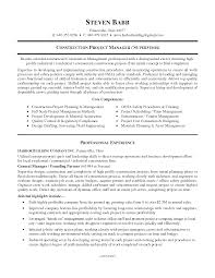 Example Resume Pdf by Construction Superintendent Resume Examples And Samples Resume