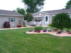mobile home yard design landscaping ideas for mobile homes mobile manufactured home