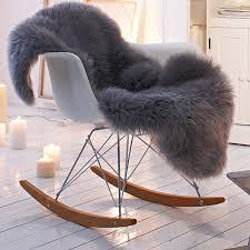fur chair cover shaggy faux fur animal pelt chair throw covers by nottooshaggy