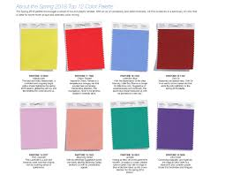 Color Forecast by Color Trends Blog Bay Area Fashionista