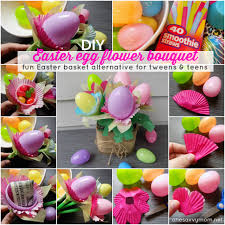 filled easter baskets for kids one savvy nyc area easter egg flower bouquet