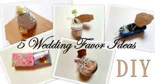 Favors Ideas by 5 Creative Wedding Favor Ideas Part 1 Diy Easy And Affordable