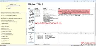 mitsubishi lancer 2010 service manual auto repair manual forum